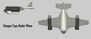 Kangae Type Radar Plane