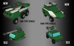 New AA Vehicle and Artillery Vehicle!