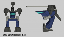 Saiga Combat Support Mech