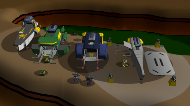 The remodeled cruiser's factories!