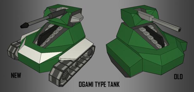 New Ogami Type Tank!
