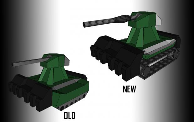 Remodeled Oukami Type Tank