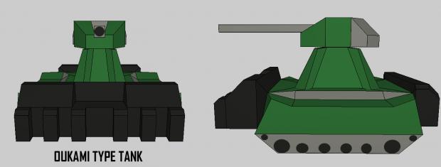 Oukami Type Tank