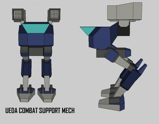 Ueda Combat Support Mech