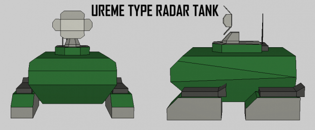 Ureme Type Radar Tank