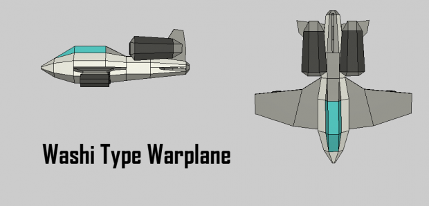 Washi Type Warplane