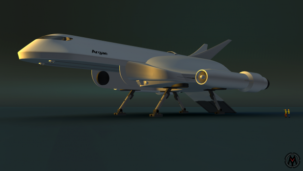 Space 3000 Concept Art