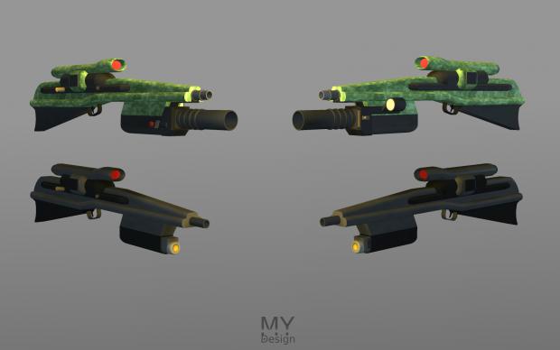TM-10 Assault Rifle - Updated