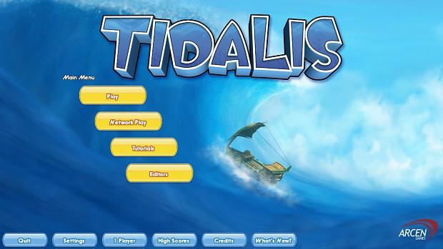 Tidalis Launch Screenshots