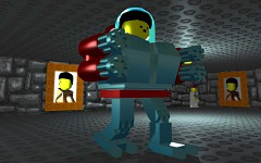 MechaHitler from Lego Wolf3D