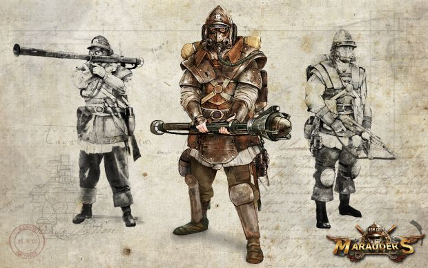 Iron Grip: Marauders - Concept Art