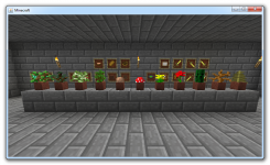 Flower Pots and Item Frames