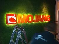 Mojang's new sign