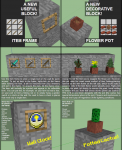 Item frames and Plant Pots
