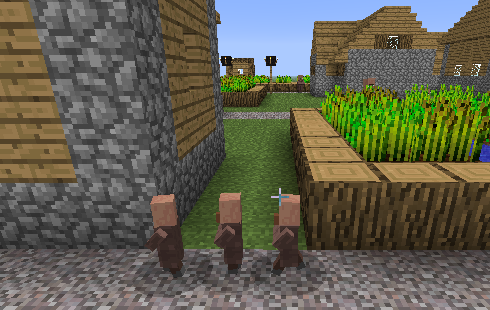Villager babies
