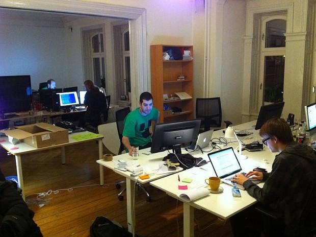 Mojang HQ in the making