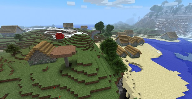1.8 - Mob villages preview