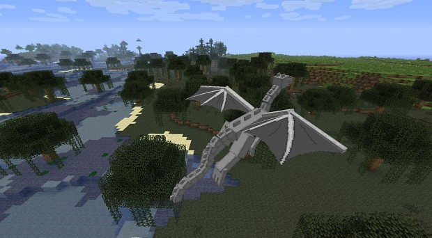 Enderdragon wing progress