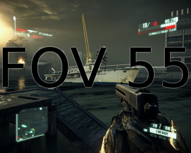 The Crysis 2 FOV