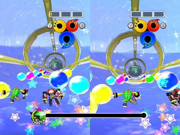 Two Player special stage competitive mode