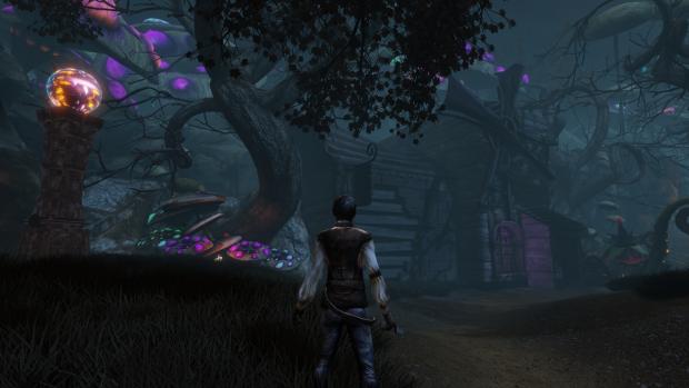 Orb Area #1 - Thief House