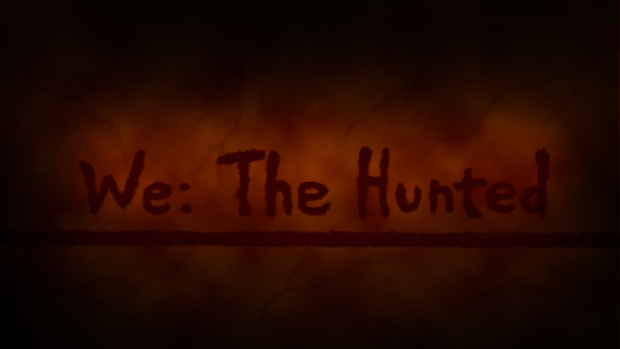We: The Hunted logo concept 2
