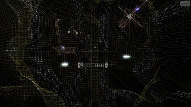 Demo Map - ScreenShot 2 (Wireframe Mode)