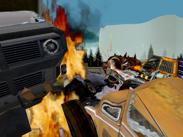 In-game shot (custom content)