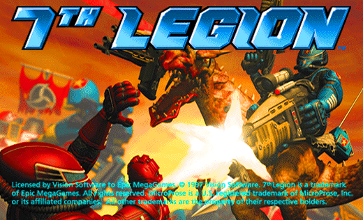 This is the old game 7th Legion setup background