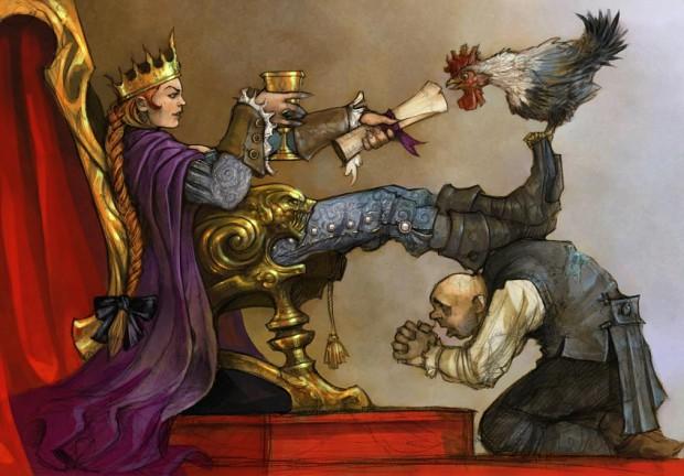 Queen's Concept Art