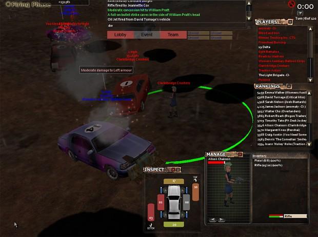 Tactical car combat
