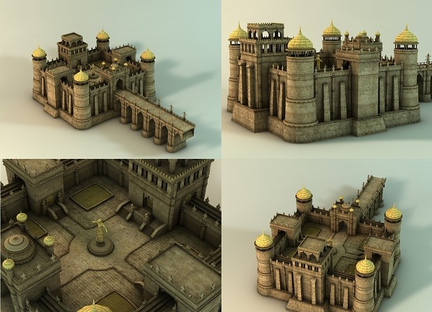 One of models made for new map.