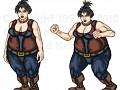 Chubby Female Character