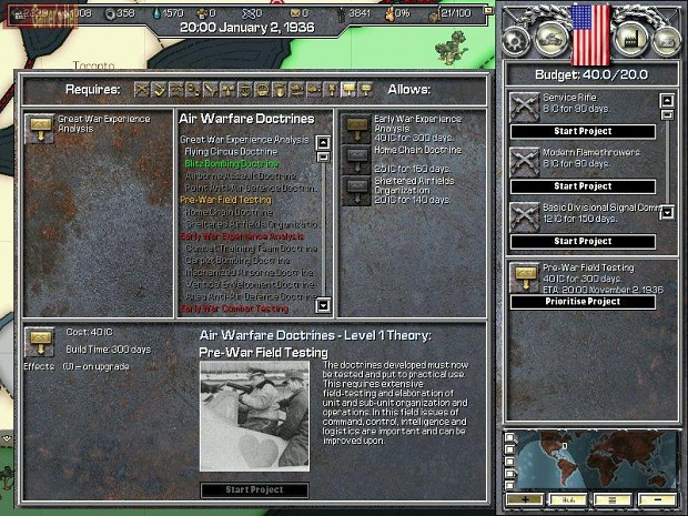Hearts of Iron Screenshots