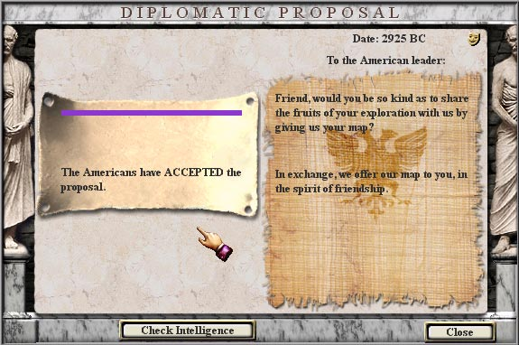 Diplomatic proposal