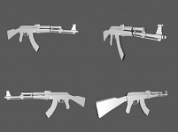 AK-47 Multiple Viewpoints