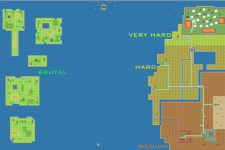 Monster Difficulty Map