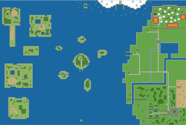 Expanded World Map- feat the Quest House
