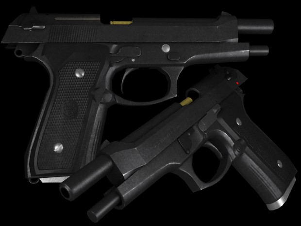 Berreta M9 FINISHED Model