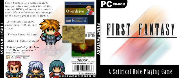 First Fantasy - A Satirical Game Cover