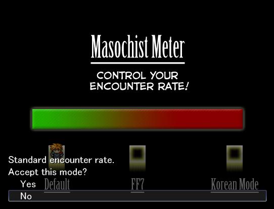 The Masochist Meter