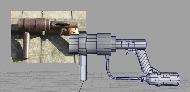 WIP Weapon : Razor Cannon