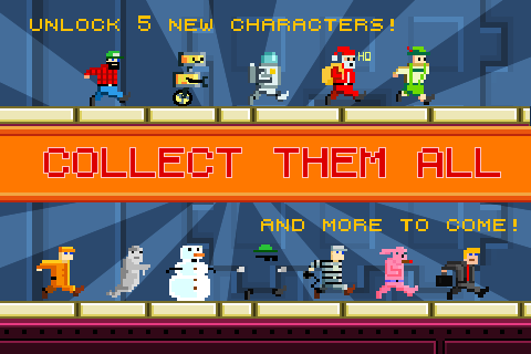 Characters Appstore promo