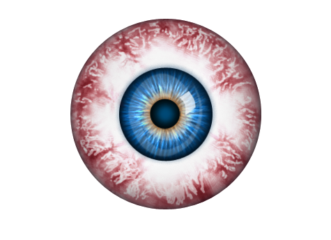 Bloodshot Eyeball!