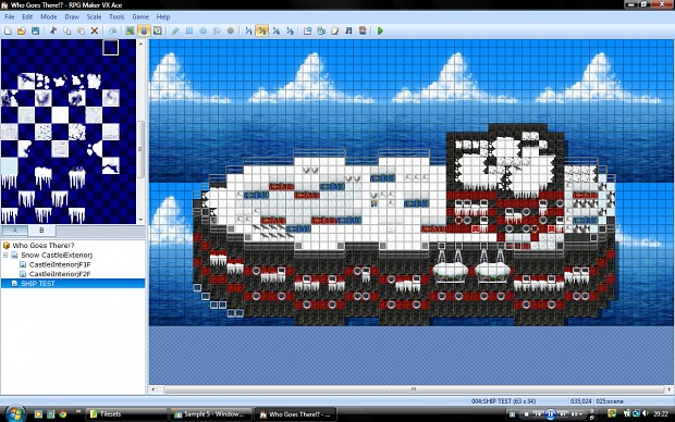 Frozen Ship (Version 6)