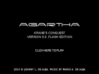 Agartha Flash Title Screen