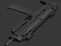 Submachine Gun Work in Progress