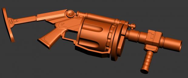 Grenade Launcher Work in Progress