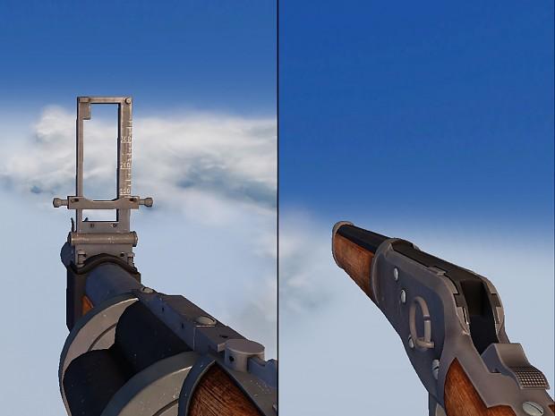 Updated Grenade Launcher + Shotgun