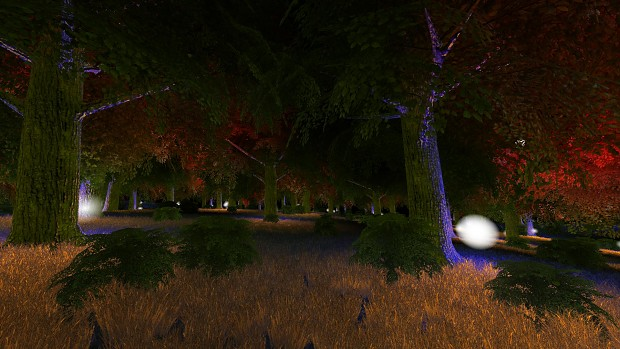Postprocess lights